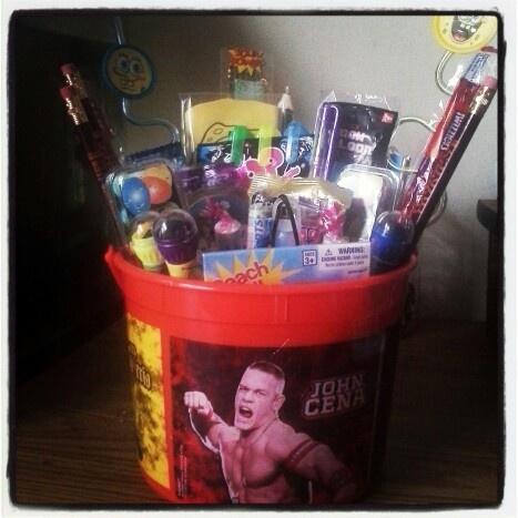 Six year old boy gift bucket! | Gift ideas | Pinterest ...