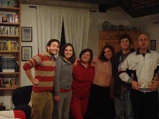 Host family Italy, Rome - homestay host Carla, Marcella, Alejandro, Agnese and Settimio