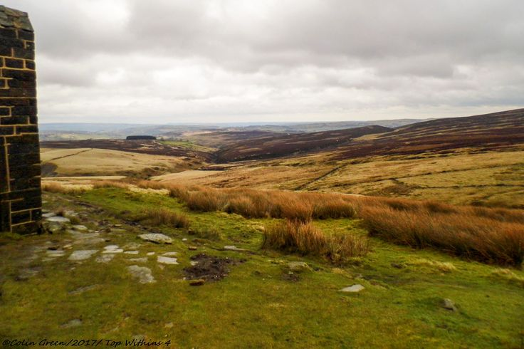 https://flic.kr/s/aHskXU1ETX | Top Withens, Bronte Country. | More pictures and information on my blog at, www.colingreenphotography.blogspot.co.uk