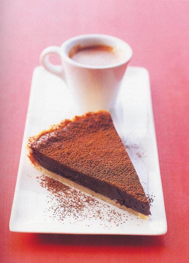 Resep | Gourmet-sjokoladetert (The Australian Women's Weekly: 1000 Best-ever Recipes from AWW)