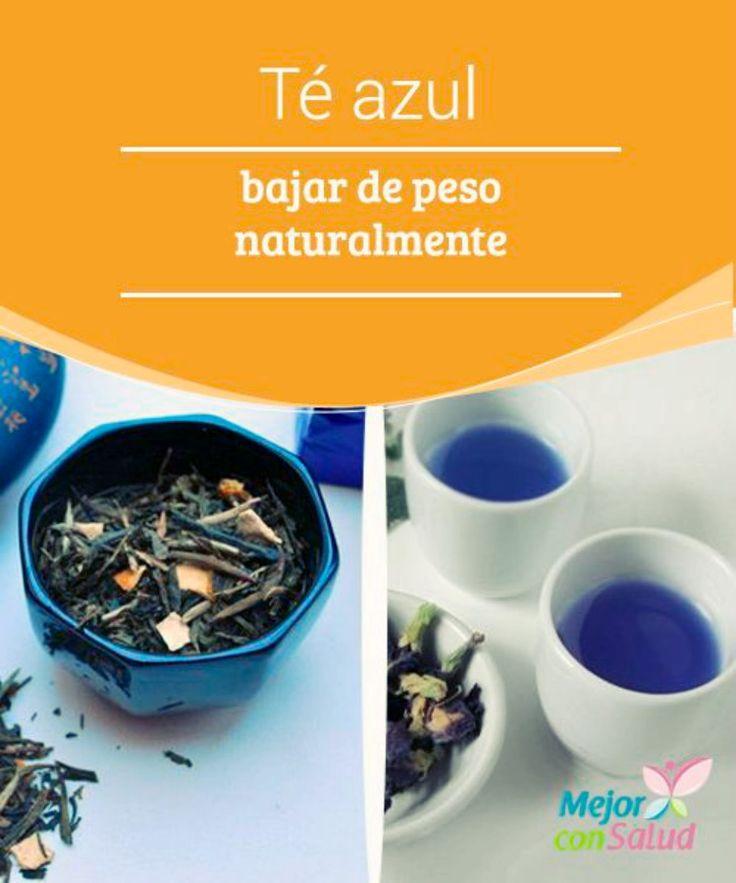 Té Oolong para bajar de peso naturalmente | El té azul está de moda. Conocido también como té Oolong o dragón negro, se trata de una variedad que ha recibido infinidad de estudios en los que se demuestra que, efectivamente, nos ayuda a adelgazar naturalmente.  via: @EsMejorConSalud