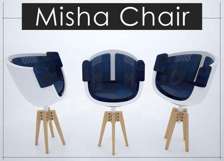 Misha Chair, Revnic Claudiu on ArtStation at https://www.artstation.com/artwork/bN2xn