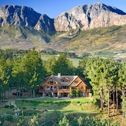 Lalapanzi Lodge 4* luxury guesthouse & self-catering accommodation, Cape Winelands, Somerset West, South Africa. Conference venue, weddings & functions with stunning views over False Bay. Hidden in 266 ha forest, fynbos & vineyards on an exclusive country estate.