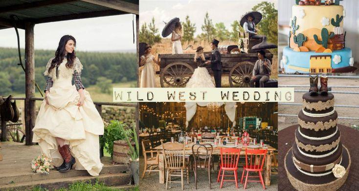 дикий запад свадьба