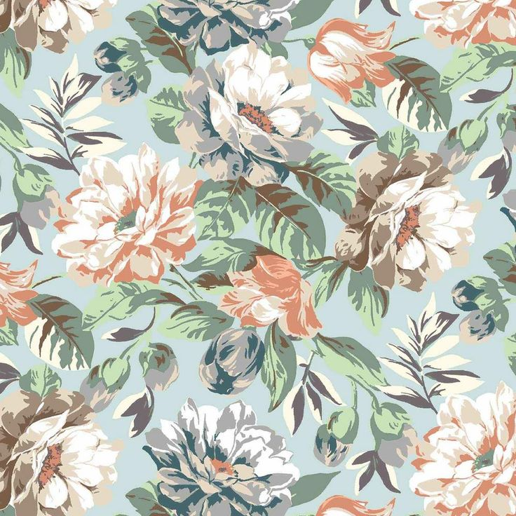 Plantation Patterns, LLC Charleston Floral Outdoor Dining Chair Cushion (2-Pack)