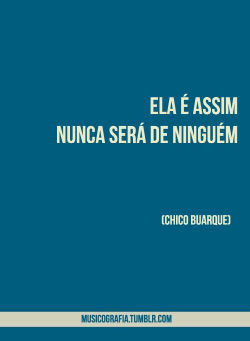 Chico Buarque Ela Faz Cinema Letras Pinterest Cinema Mpb E