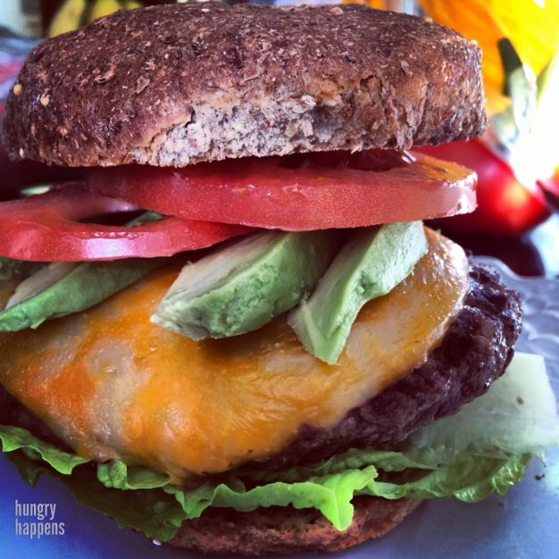 perfect healthy cheeseburger | Yummy But Healthy | Pinterest