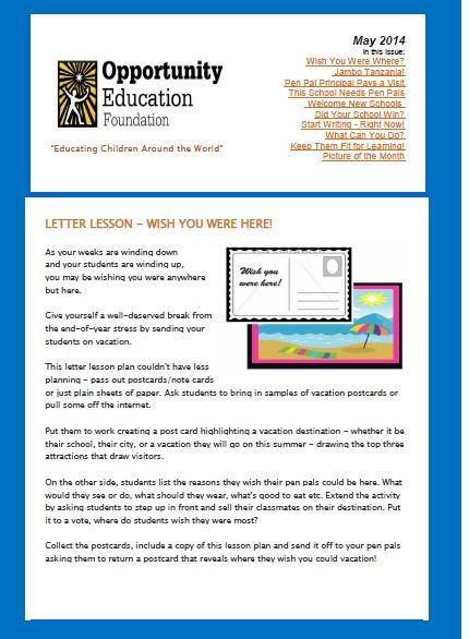 Best Monthly Newsletters Images On   School