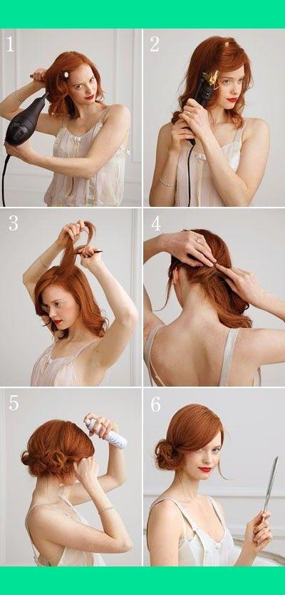 Easy Up-Do   Thayse C.'s (thaysehta14) Photo   Beautylish