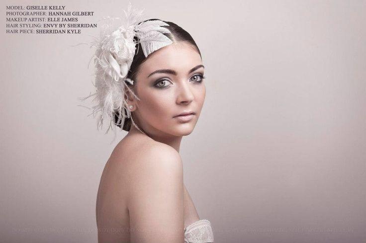 Made by sherridan #bridal #head peice #wedding