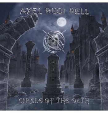 """L'album di #AlexRudiPell initolato """"Circle Of The Oath"""". Cofanetto che comprende 2 LP, digipak, poster, adesivo e molto altro ancora. Limitato a 1000 copie al mondo."""