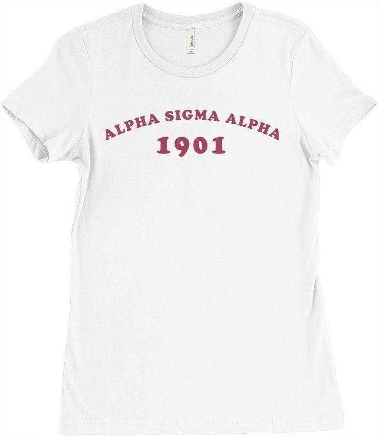 Alpha Sigma Alpha Boyfriend Tee