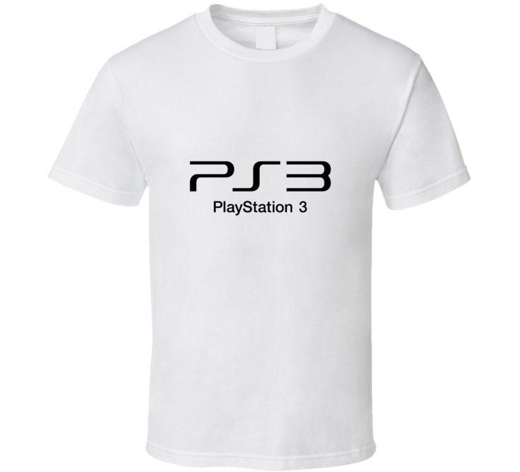 Ps3 Play Station 3 Logo T Shirt