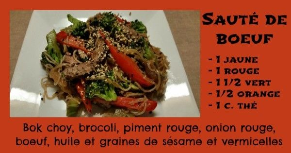 Sauté de boeuf / recette 21 day fix - Restez en forme avec Sandra - Beachbody francais