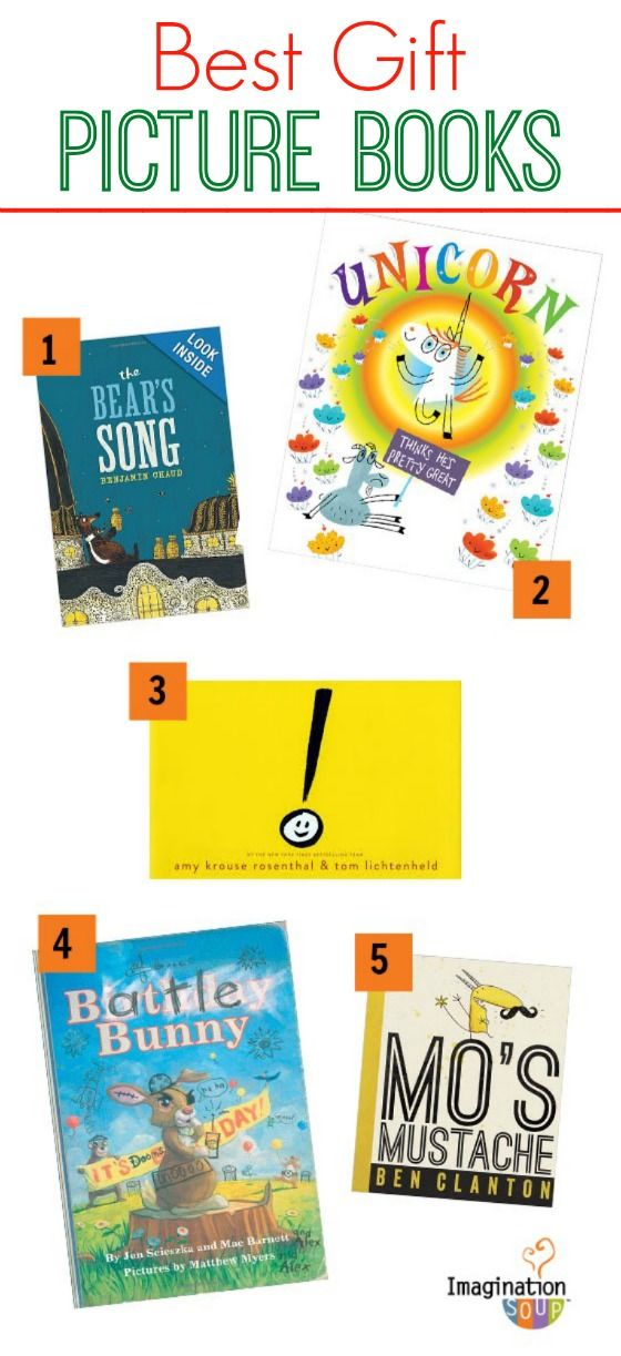 Books make the BEST gifts! Give one of these best of 2013 picture books. #kidlit