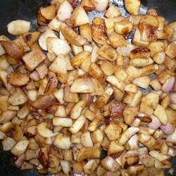 Caramelized Turnips Recipe - Allrecipes.com - Added onions and subbed brown sugar, also used chicken stock.  Delicious!
