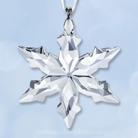 17 best images about swarovski snowflake ornaments on