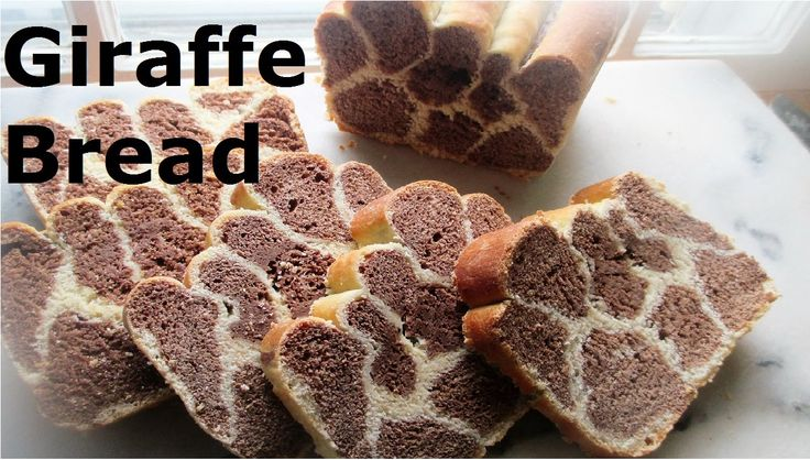 Giraffe Bread Recipe A fun bread to slice. Most children love it. Perfect for a…