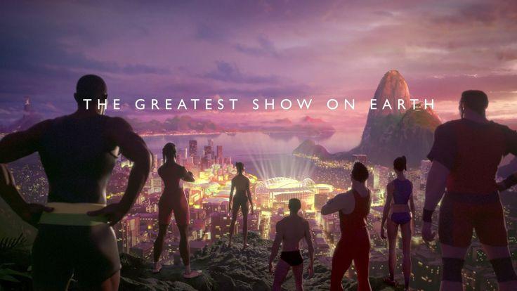 """Rio 2016 Olympic Games: Trailer - BBC Sport -  Rio 2016 : Le mois dernier, la BBC a lancé sa """"bande-annonce"""" des JO de Rio 2016. Un clip réalisé intégralement en images de synthèse qui donne le frisson !"""