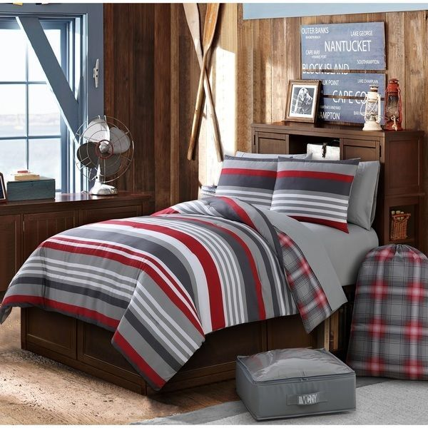 Twin Xl Bed Bedding Sets For Dorms College Boys Daybed 8 Piece S New Unbranded Contemporary Bedroom Ideas Pinterest Comforters And Room