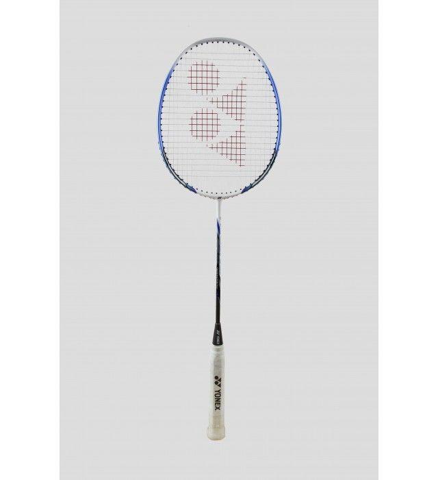 Yonex Nanoray 10 Badminton Racket (White/Blue, 2015)