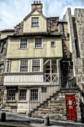 John Knox's House, Edinburgh, Scotland. John Knox House dates back to 1470, making it the only original medieval building surviving in Edinburgh. It is reputed to have been owned and lived in by Protestant reformer John Knox during the 16th century.