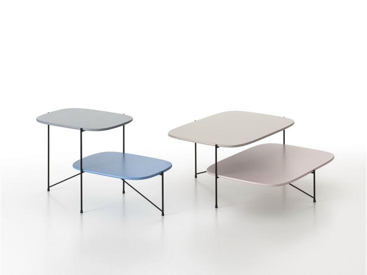 Tavolino da caffè laccato HAIKU by Saba Italia design Marco Zito