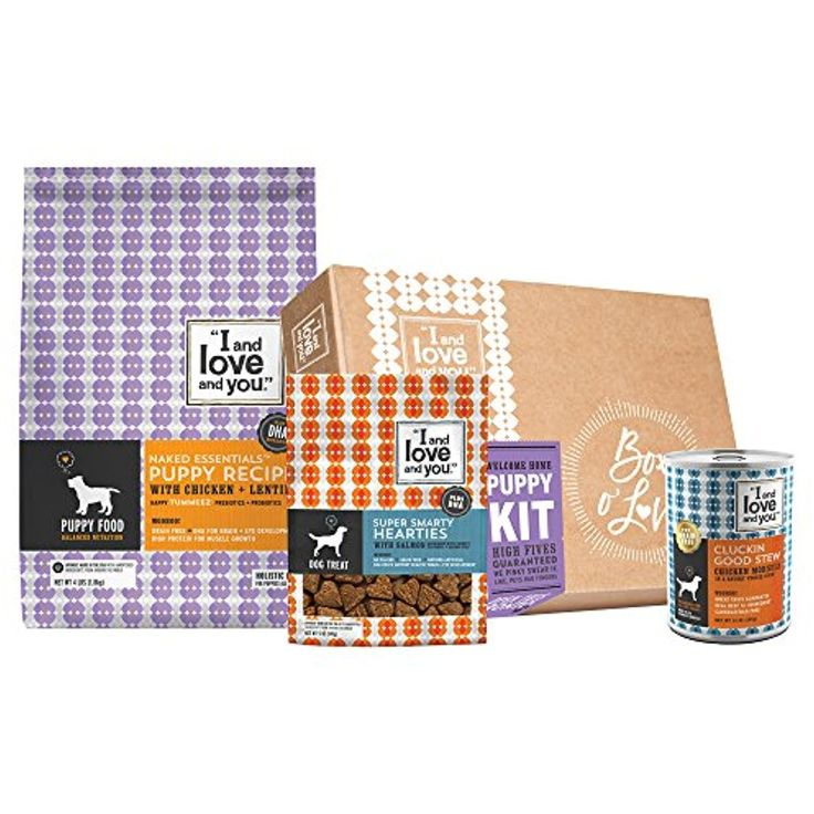 I and love and you Puppy Kit, Puppy Food Bundle (Dry Dog Kibble, Wet Dog Can, Treat) ~ You can click image to review more details. (This is an affiliate link and I receive a commission for the sales)