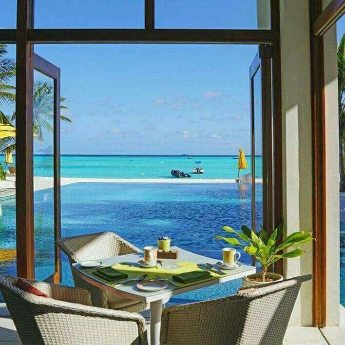 The Maldives, Seaside Style, Beach Design, Sunday Morning, Luxury  Lifestyle, On The Beach, Tropical, Coastal, At The Beach