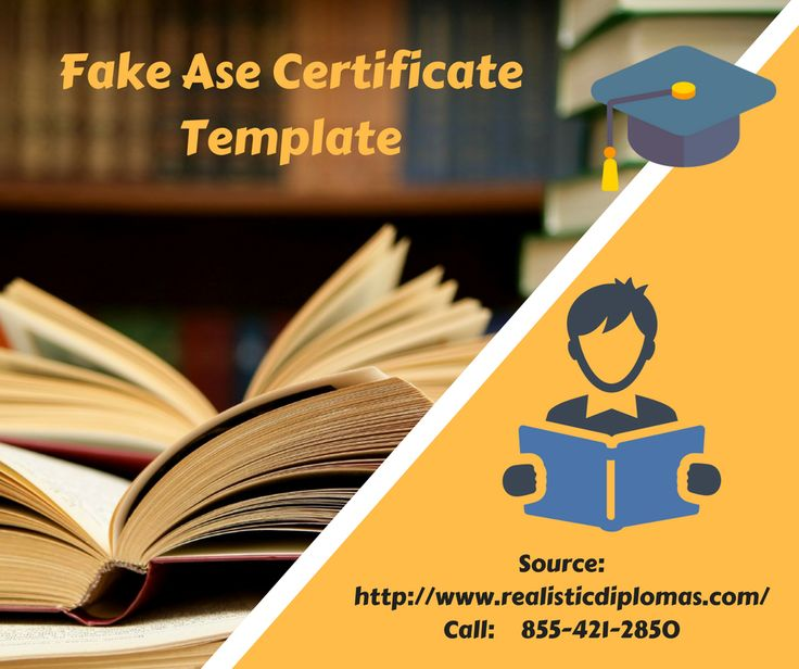12 best fake ase certificate print your own diploma images on fake certificates degree certificates for sale fake university certificate yelopaper Image collections