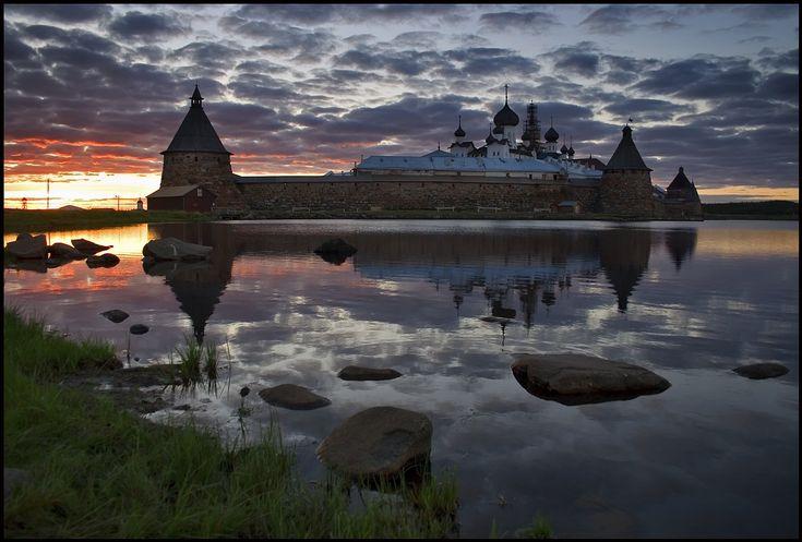 Solovetsky Monastery, Karelia