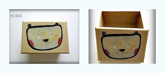 Hand painted paper box./ mackós doboz | Flickr - Photo Sharing!