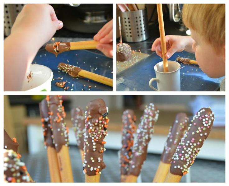Breadstick Sparklers