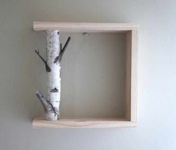 arte di betulla bianca foresta/mensola 12x12 di urbanplusforest