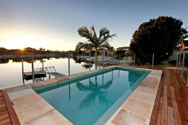 Sandy Shores, a Yamba Waterfront Home | Stayz
