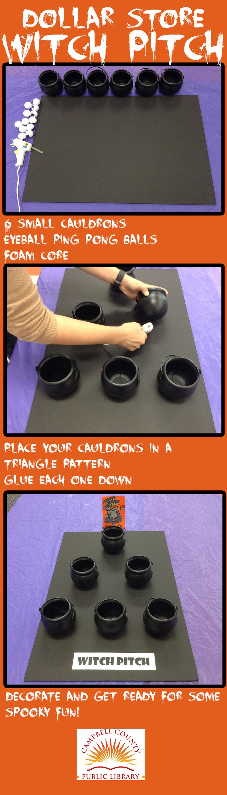 diy this halloween game for 8 - Halloween Party Games Toddlers