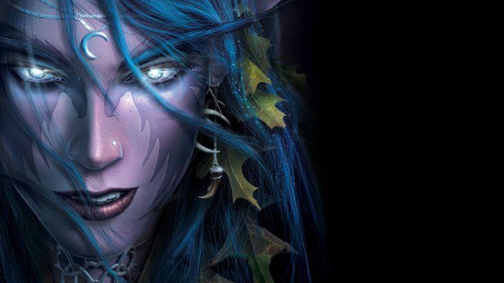 Wallpaper Tyrande Whisperwind World of Warcraft