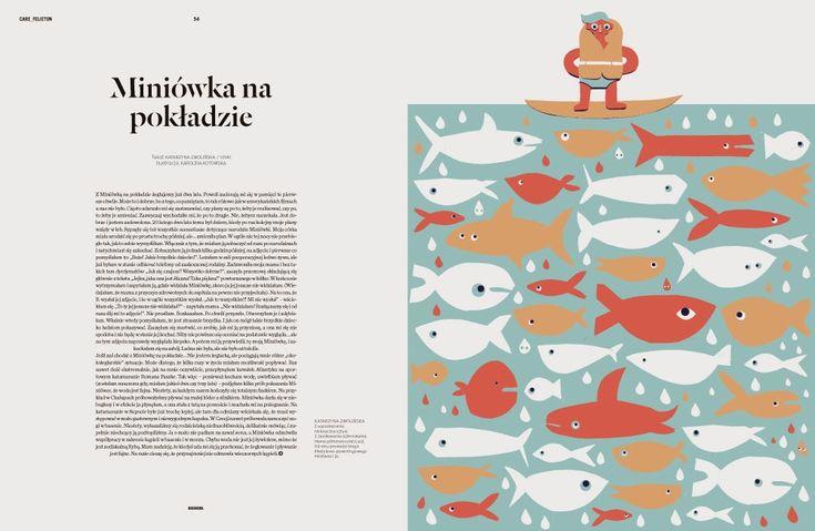 karolina kotowska, ilustracja, ryba, ilustration