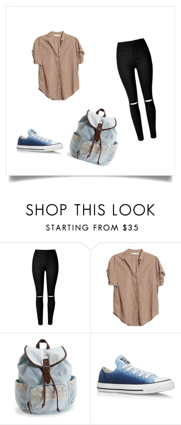 """""""Collection Spring-2016"""" by madalina-vlad-1 on Polyvore featuring Xirena, Aéropostale and Converse"""