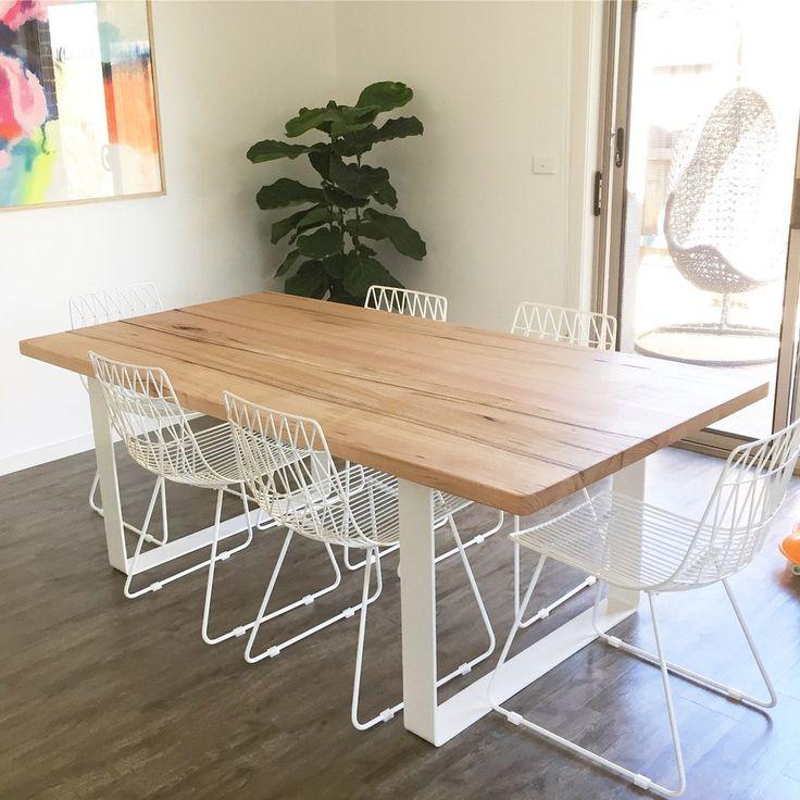Image of Hardwood table Vic ash 9