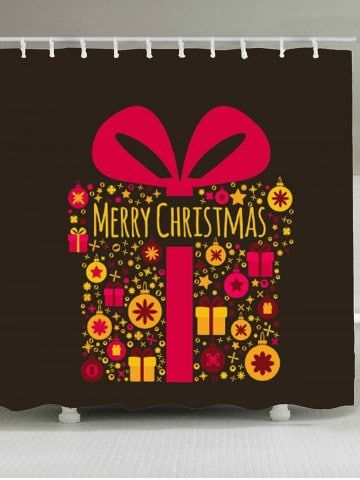 Christmas Gifts Patterned Shower Bathroom Curtain Stuff to buy