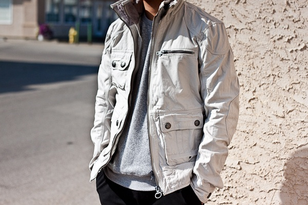 Check out this new Superdry Wax Cotton Jacket!! Perfect for fall.