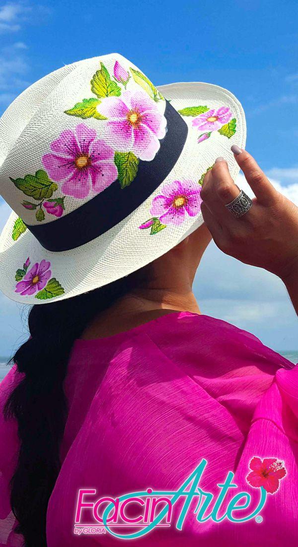 1pc Ni/ños Sombreros De Paja con Flores Decoraci/ón De Protecci/ón Solar Cap Ni/ños Atan para Uso Al Aire Libre