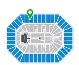 Section 442, Row F The Lumineers 'Cleopatra World Tour Continues' 2017 tickets at the BMO Harris Bradley Center in Milwaukee, WI for Mar 25, 2017 07:00 PM at Ticketmaster.