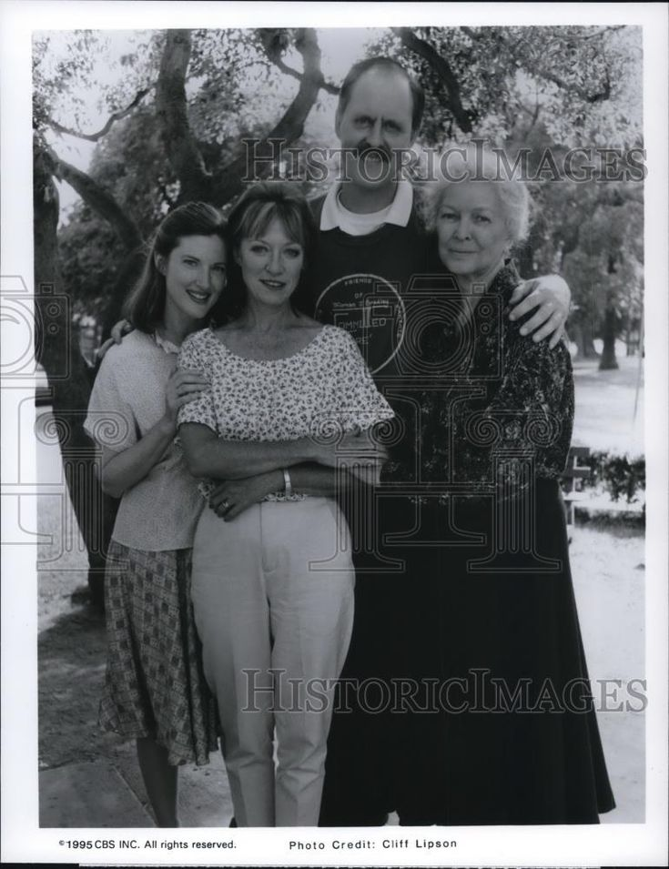 1995 Press Photo Annette O'Toole Veronica Cartwright John Lithgow Ellen Burstyn - Historic Images