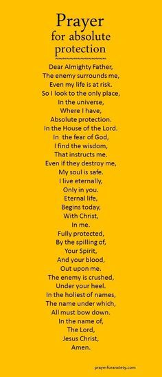 You can pray this prayer when you need protection. This prayer is inspired by Psalm 27. The world tries to convince us that the peace and prosperity of man will save us. But our soul yearns for an eternal answer. The only real security we have is in Christ Jesus.