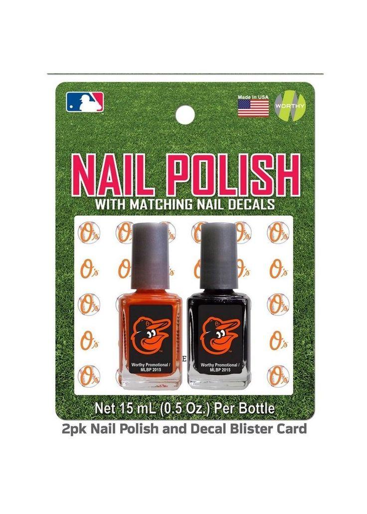 Baltimore Orioles Nail Polish