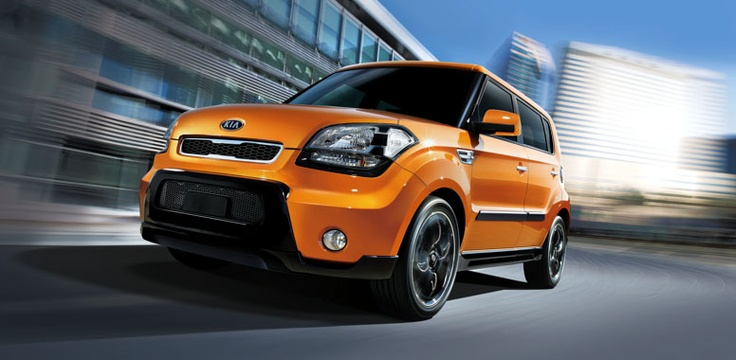 KIA Soul.... fun color!! I have it:):):) it is a 2011, 4 days old:)