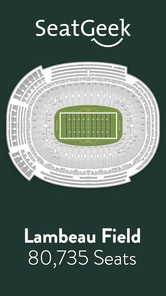 Find the best deals on green bay packers tickets and know exactly where you ll