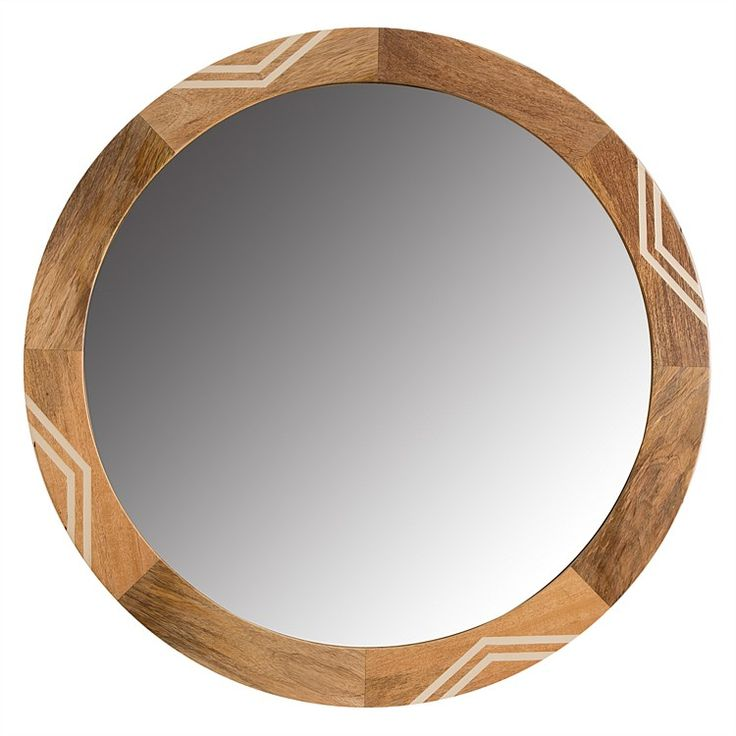 Reduced to Clear Homewares - Isham Round Mirror 90cm ...